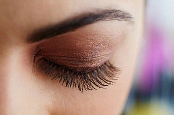 Lashes treated by Vitamin Lash Lift at Art of Beauty Academy
