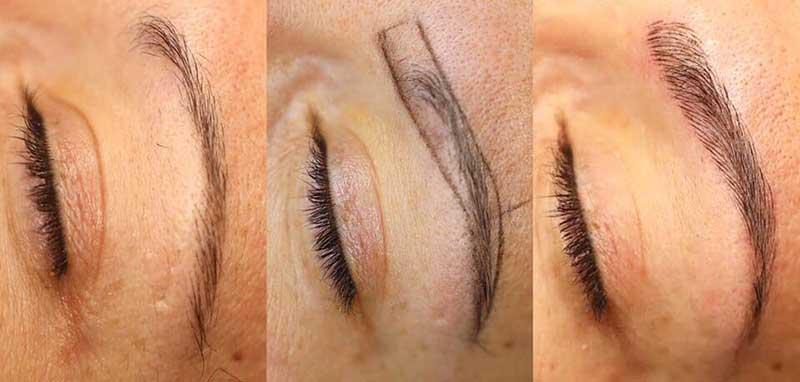 Microblading Eyebrows: Everything You Need to Know by artofbeautyacademy.com