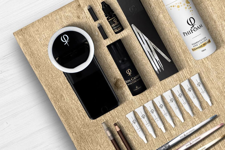 PhiAcademy Professional Microblading Products and Tools