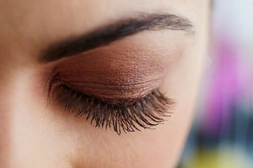 Lashes treated by Vitamin Lash Botox at Art of Beauty Academy