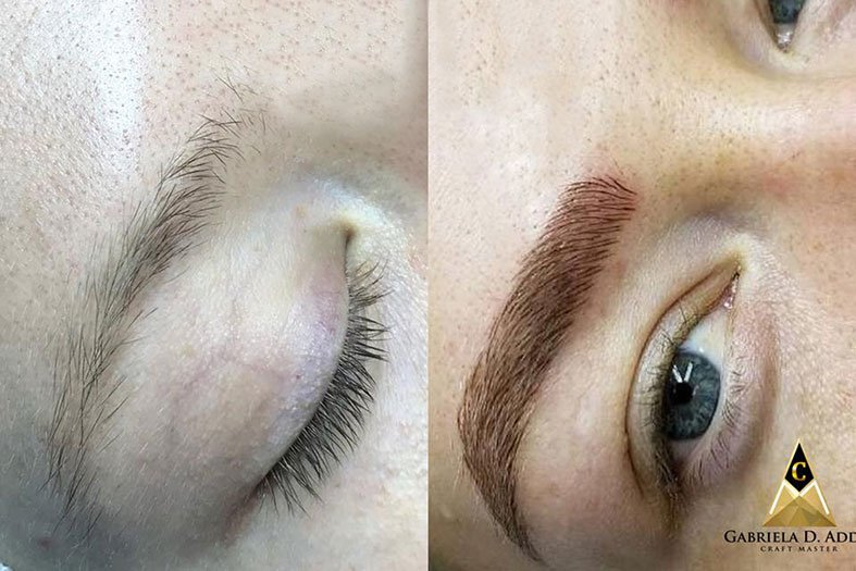 Microblading Before and After: Our Successful Stories by artofbeautyacademy.com