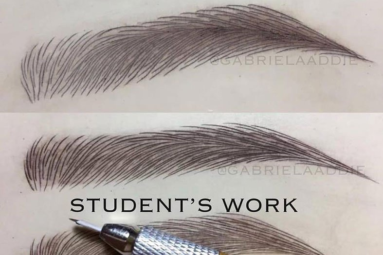 Microblading Classes USA Students Work