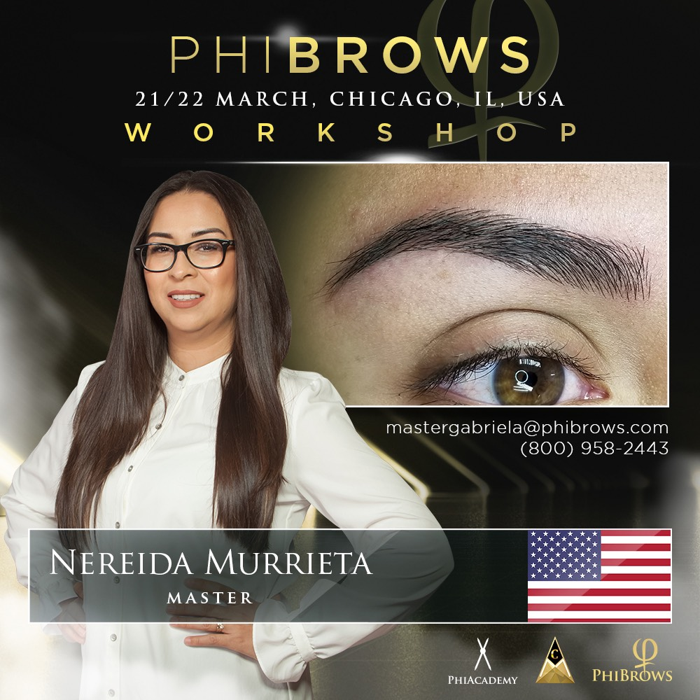 Phibrows Microblading Training Course Chicago Illinois Usa