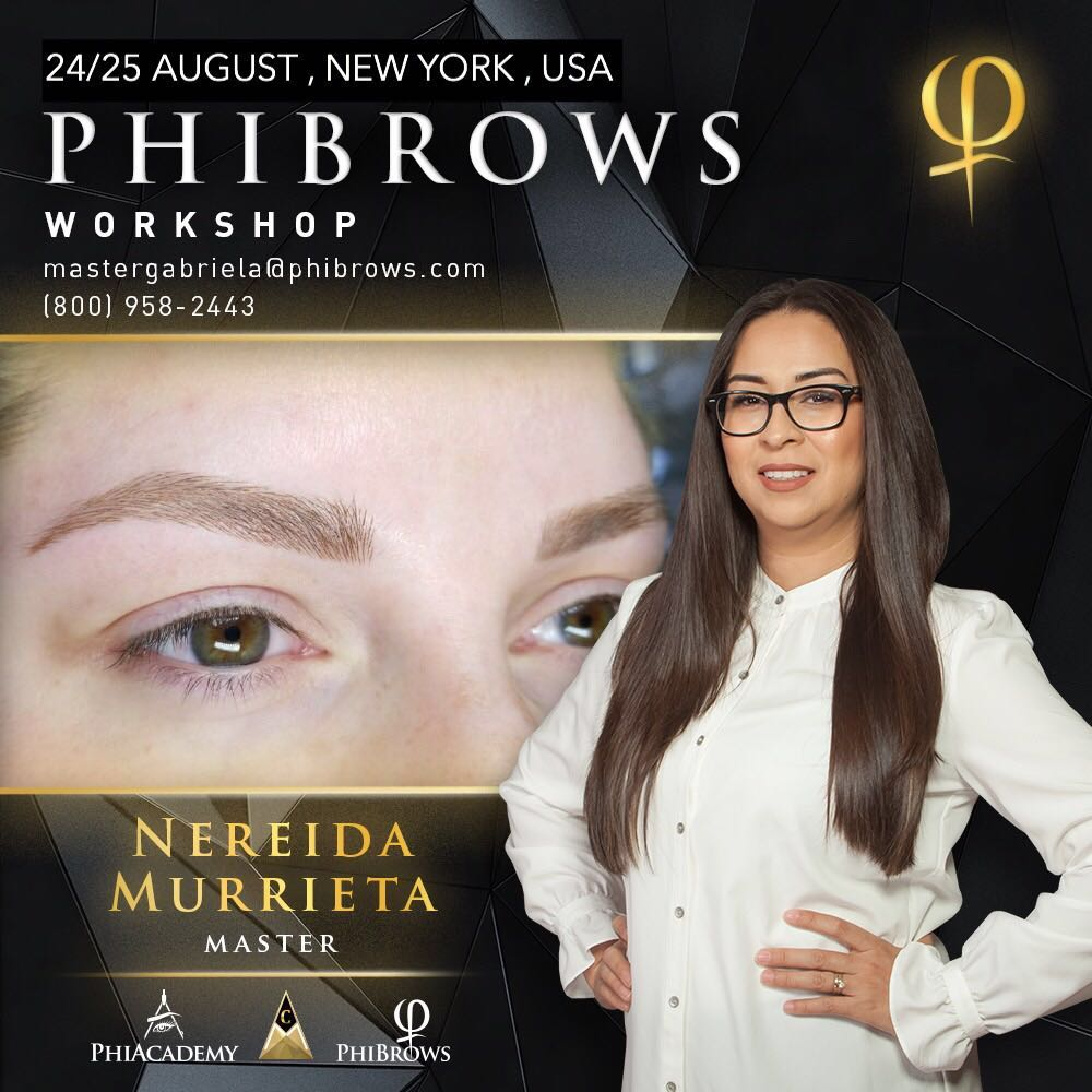 19-08-24 Phibrows Microblading Training New York – August 24/25