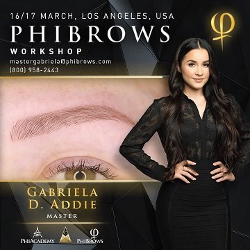 19-03-16 Phibrows Microblading Training Los Angeles – March 16/17