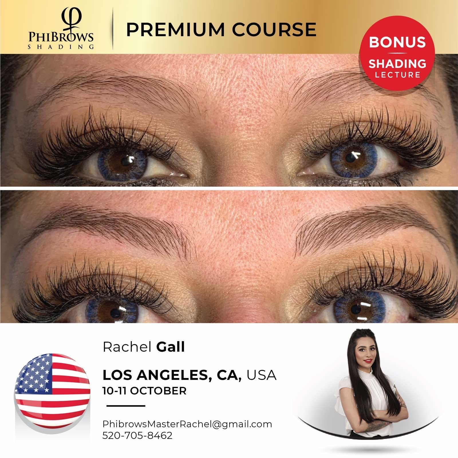 20-10-10 Phibrows Microblading Training Los Angeles – October 10/11