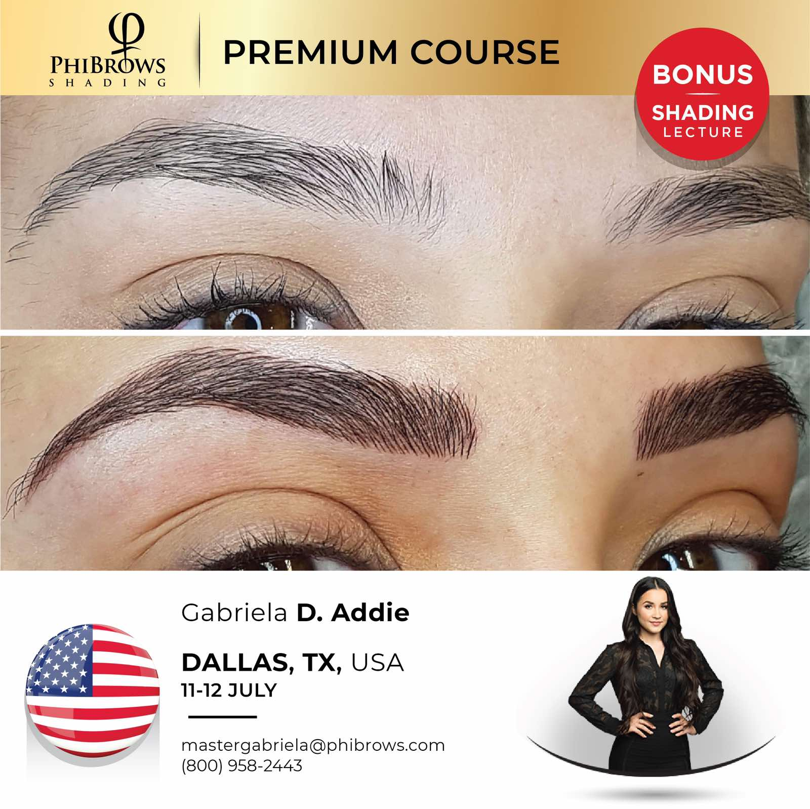 20-07-11  Phibrows Microblading Training Dallas – July 11/12