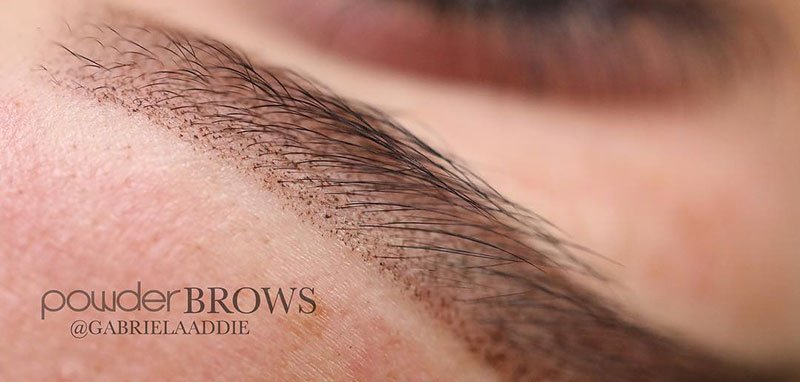 Ombre Powder Brows – Eyebrow Technique Explained by artofbeautyacademy.com