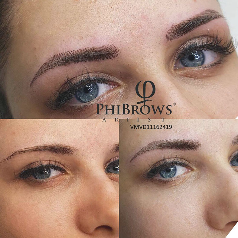 phibrows microblading procedure