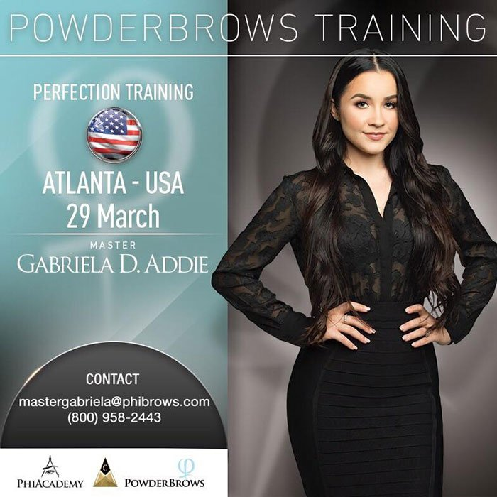 19/03/29 Powder Brows Training Atlanta – March 29