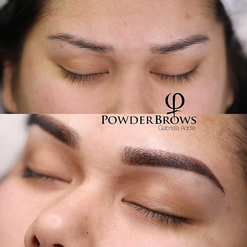Powder Brows Training Course USA - Live & Online Training AOB