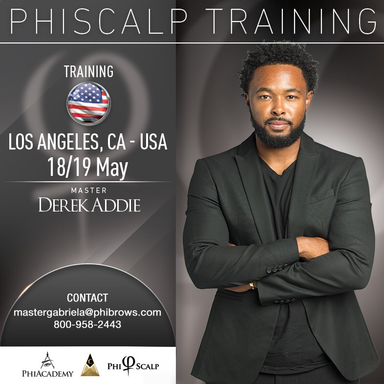 19/05/18 PhiScalp Micropigmentation Training Los Angeles – May 18/19