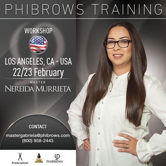 20-02-22 Phibrows Microblading Training Los Angeles – February 22/23