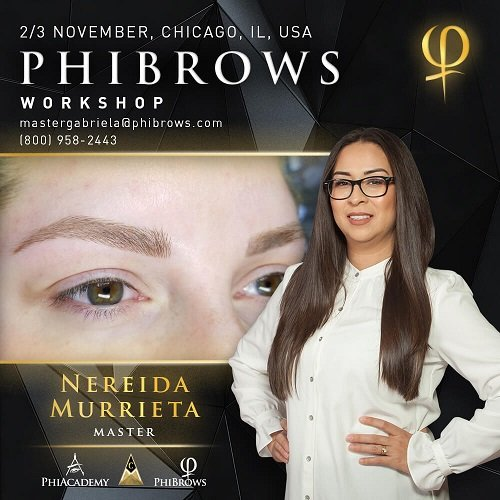 19-11-02 Phibrows Microblading Training Chicago – November 02/03