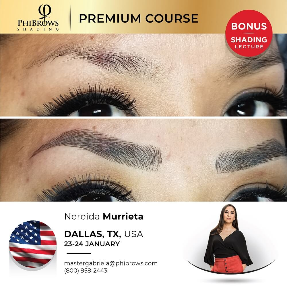 21-01-23 Phibrows Microblading Training Dallas – January 23/24