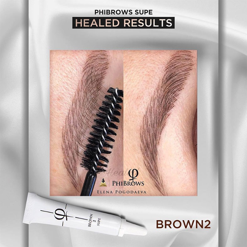 PhiBrows™ Microblading Pigments SUPE Brown 2