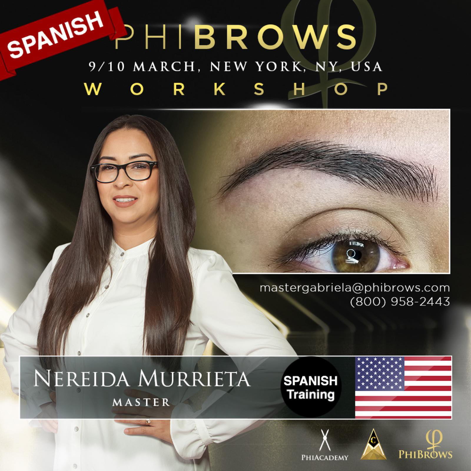 20-03-09 Phibrows Microblading Training Brooklyn, NY – March 09/10