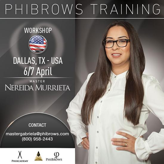20-04-06Phibrows Microblading Training Dallas – April 06/07