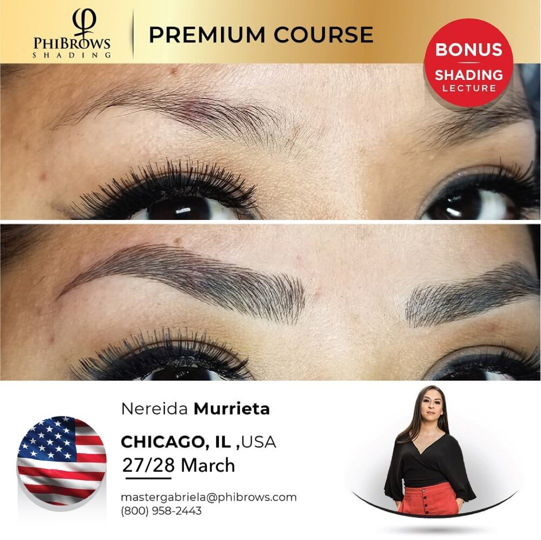 21-03-27 Phibrows Microblading Training Chicago, IL – March 27/28