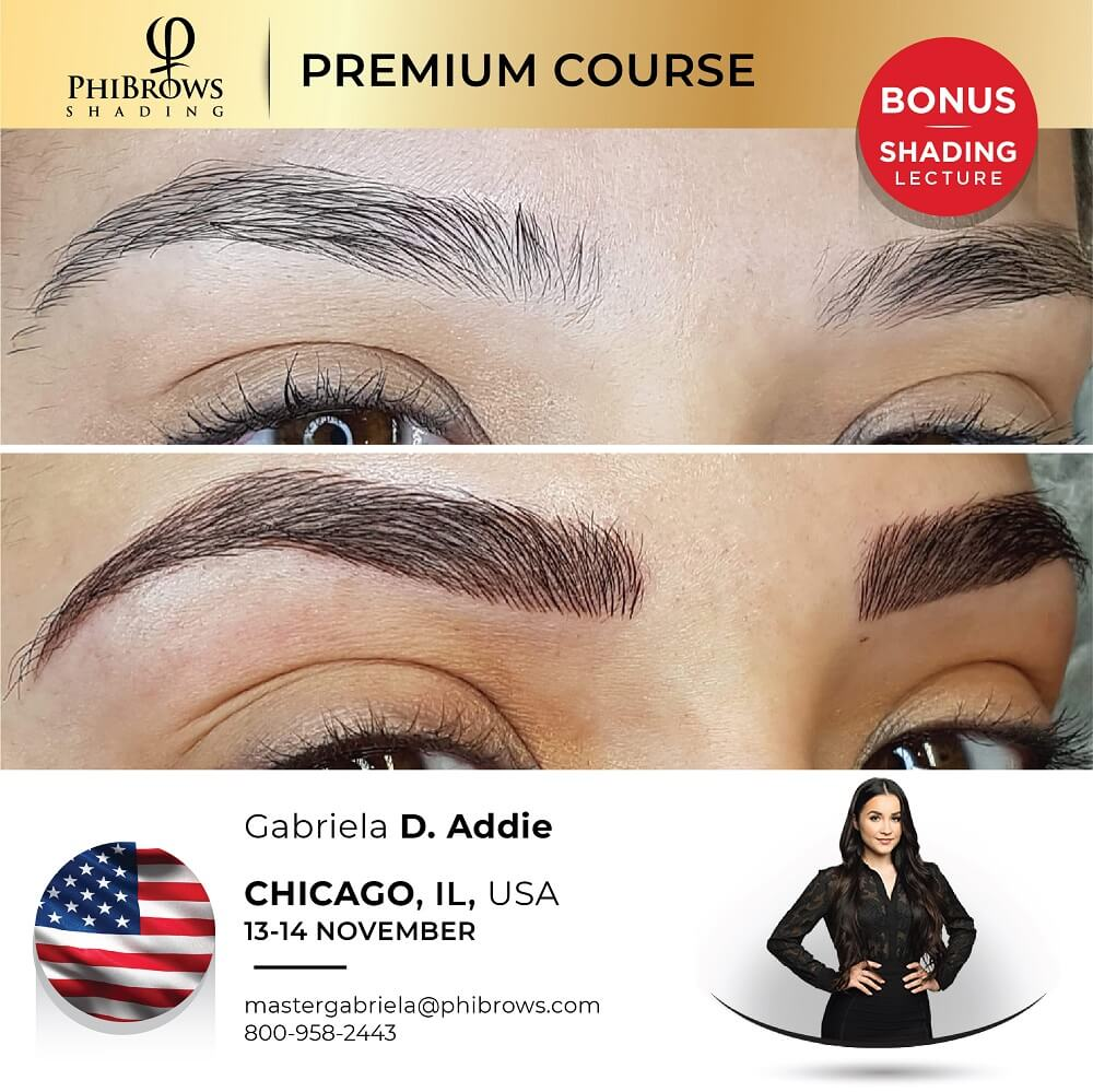 21-11-13 Phibrows Microblading Training Chicago, IL – November 13/14