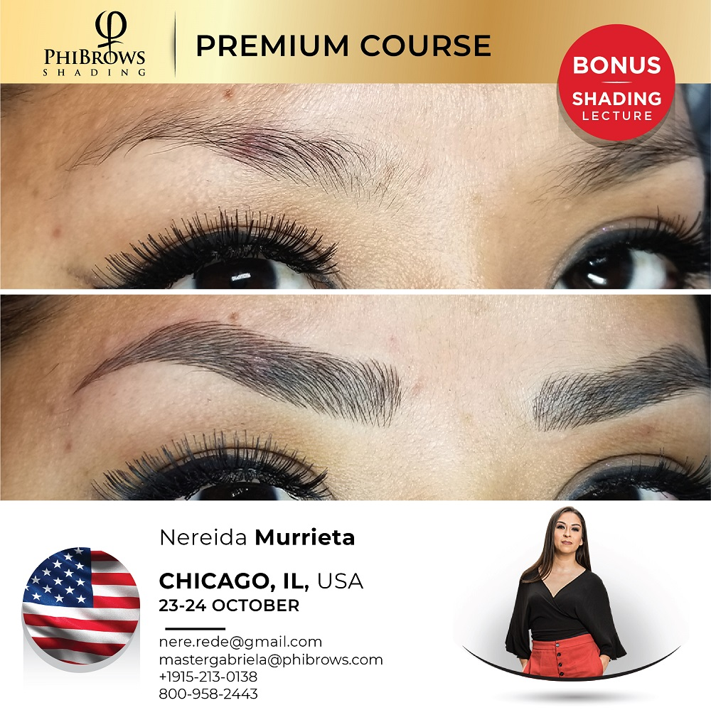 21-10-23 Phibrows Microblading Training Chicago – October 23/24