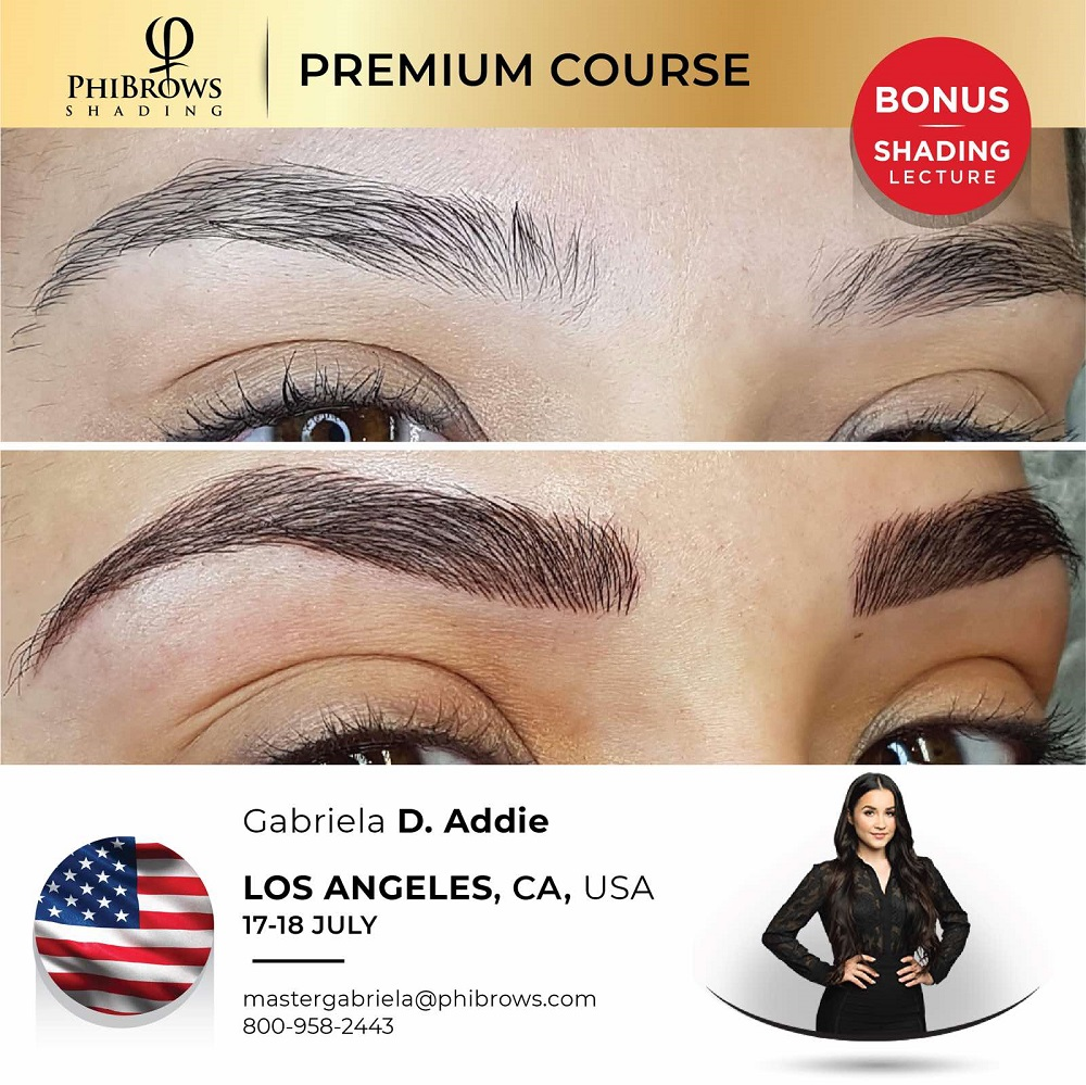 21-07-17 Phibrows Microblading Training Los Angeles – July 17/18