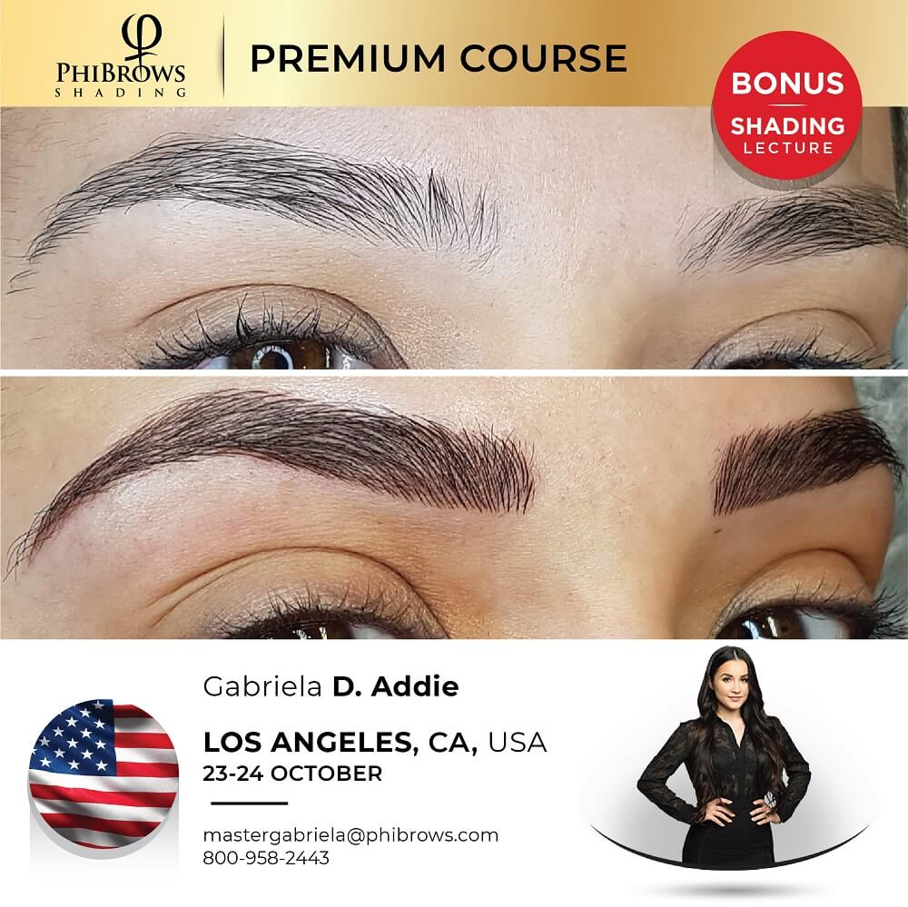 21-10-23 Phibrows Microblading Training Los Angeles – October 23/24